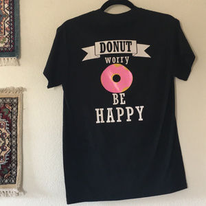 """🌵Local Diner """"Donut Worry Be Happy"""" Tee"""